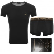 Product Image for Emporio Armani Lounge T Shirt Gift Set Black