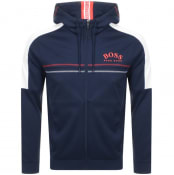 Product Image for BOSS Athleisure Saggy Full Zip Hoodie Navy