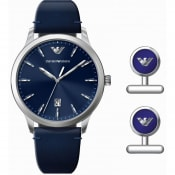 Product Image for Emporio Armani AR80032 Watch Gift Set Blue