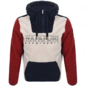 Product Image for Napapijri Teide 2 Hooded Logo Fleece Beige
