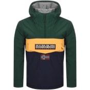 Product Image for Napapijri Rainforest Block Jacket Green