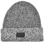 Product Image for Superdry Stockholm Logo Beanie Hat Grey