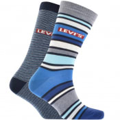 Product Image for Levis 2 Pack Comfort 168SF Socks Blue