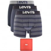 Product Image for Levis Underwear 3 Pack Trunks Gift Set Blue