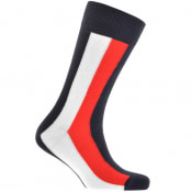 Product Image for Tommy Hilfiger Iconic Global Socks Navy