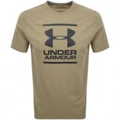 Product Image for Under Armour Foundation Logo T Shirt Khaki