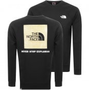 Product Image for The North Face Raglan Redbox Sweatshirt Black