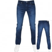 Product Image for HUGO 708 Hugo Slim Fit Jeans Blue