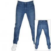 Product Image for BOSS Casual Taber Tapered Fit Jeans Blue