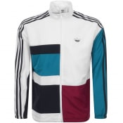 Product Image for adidas Originals Asymm Full Zip Track Top White