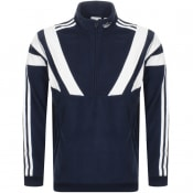 Product Image for adidas Originals Balanta 96 Half Zip Fleece Navy