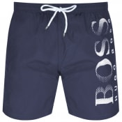 Product Image for BOSS HUGO BOSS Octopus Swim Shorts Navy