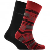 Product Image for BOSS HUGO BOSS Two Pack Socks Red