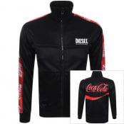 Product Image for Diesel X Coca Cola ReCollection Track Top Black