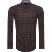Product Image for BOSS HUGO BOSS Rikard Check Shirt Red