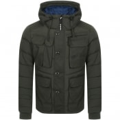 Product Image for G Star Raw Whistler Utility Hooded Jacket Green