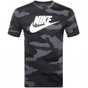 Product Image for Nike Camouflage T Shirt Grey