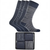 Product Image for BOSS HUGO BOSS Four Pack Sock Gift Set