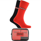 Product Image for HUGO Double Pack Sock Gift Set Red