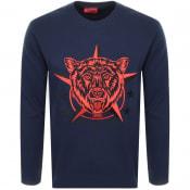Product Image for HUGO Daller Sweatshirt Navy