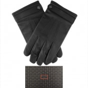 Product Image for Ted Baker Ovine Leather Gloves Black