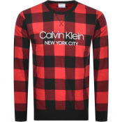 Product Image for Calvin Klein Underwear Logo Sweatshirt Red