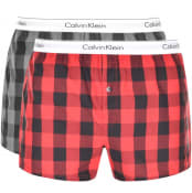 Product Image for Calvin Klein Underwear 2 Pack Boxer Shorts Black