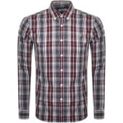 Product Image for Farah Vintage Brewer Tartan Shirt Grey