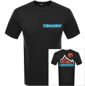 Product Image for Converse Mountain Moon Logo T Shirt Black