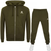 Product Image for Converse Star Chevron Logo Tracksuit Green