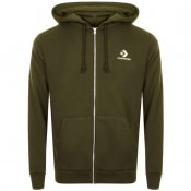 Product Image for Converse Star Chevron Full Zip Hoodie Green