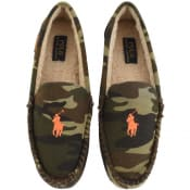 Product Image for Ralph Lauren Camouflage Slippers Green
