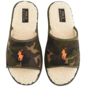 Product Image for Ralph Lauren Camouflage Slip On Slippers Green