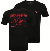 Product Image for True Religion Foil Puff Buddha T Shirt Black