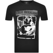 Product Image for True Religion Crew Neck Buddha Logo T Shirt Black