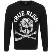 Product Image for True Religion Skull Logo Sweatshirt Black