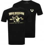 Product Image for True Religion Metallic Buddha T Shirt Black