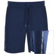 Product Image for Tommy Hilfiger Loungewear Tape Logo Shorts Navy