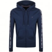 Product Image for Tommy Hilfiger Lounge Full Zip Tape Hoodie Navy