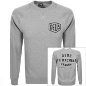 Product Image for Deus Ex Machina Crew Neck Canggu Sweatshirt Grey