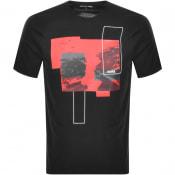 Product Image for Michael Kors Korshaus Logo T Shirt Black
