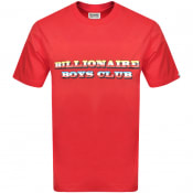 Product Image for Billionaire Boys Club Gradient Logo T Shirt Red