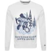 Product Image for Billionaire Boys Club Logo Sweatshirt White