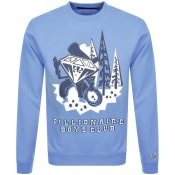Product Image for Billionaire Boys Club Logo Sweatshirt Blue