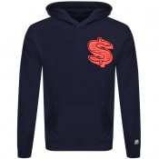 Product Image for Billionaire Boys Club Dollar Logo Hoodie Navy