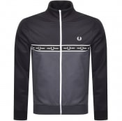 Product Image for Fred Perry Taped Full Zip Track Top Grey