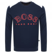 Product Image for BOSS Athleisure Salbo Sweatshirt Navy
