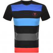 Product Image for Barbour Beacon Rydal Stripe T Shirt Black