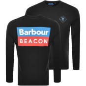 Product Image for Barbour Beacon Standard Long Sleeve T Shirt Black