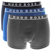 Product Image for BOSS HUGO BOSS Underwear Triple Pack Boxer Trunks